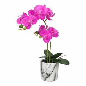 Alpenveilchen künstliche Orchidee 49 cm