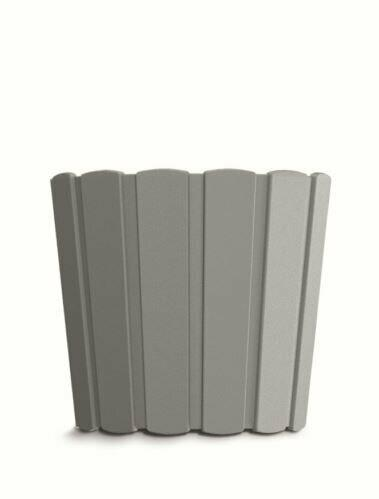 Blumentopf BOARDEE BASIC grau stein 19,9cm