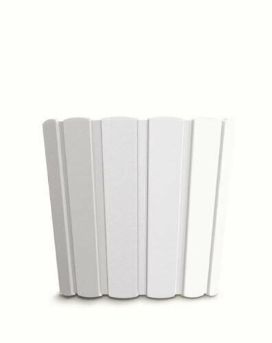 Blumentopf BOARDEE BASIC weiß 19,9cm