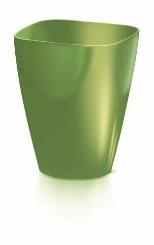 Blumentopf COUBI ORCHID eckig oliv 13,2cm
