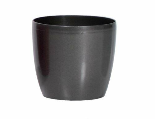 Blumentopf COUBI rund graphit 9cm