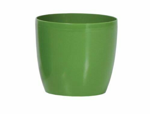 Blumentopf COUBI rund oliv 9cm