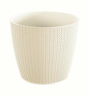 Blumentopf WHEATY cream 15,7 cm