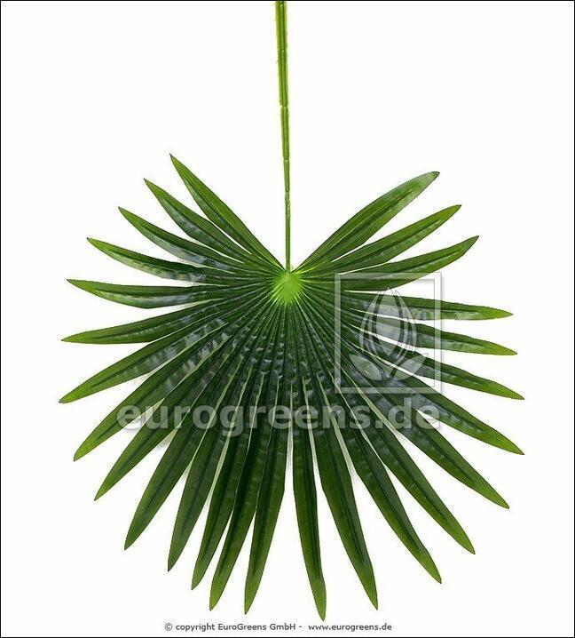 Künstliche Blattpalme Livistona 90 cm
