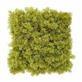 Künstliche grüne Moosplatte - 25x25 cm