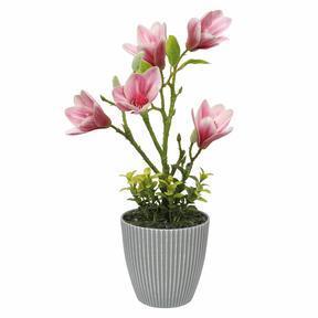 Künstliche Magnolie im Blumentopf 21 cm