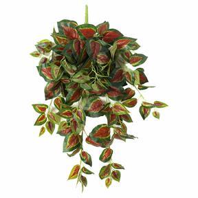 Künstliche Ranke Basilikum rot 80 cm