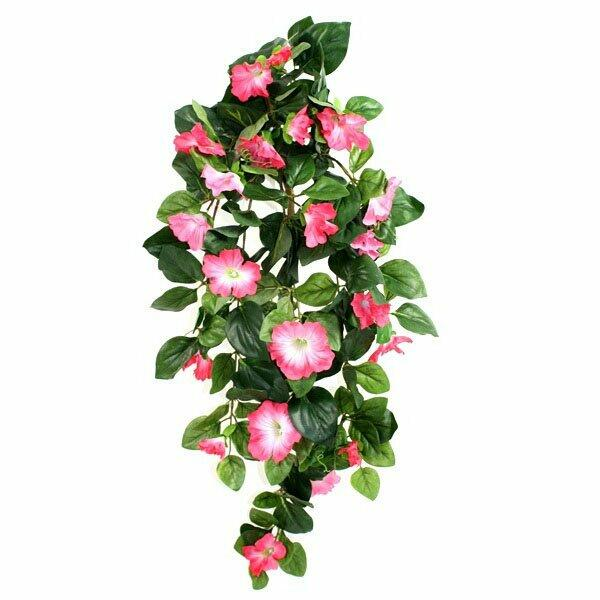 Künstliche Ranke Petunie rosa 80 cm