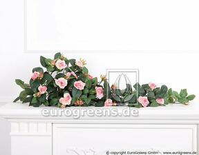 Künstliche Ranke Rose rosa 70 cm
