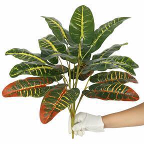 Künstlicher Croton meliert 50 cm