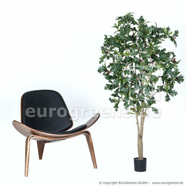 Künstlicher Eichenbaum mit Früchten 160 cm
