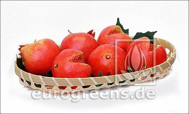 Künstlicher roter Granatapfel