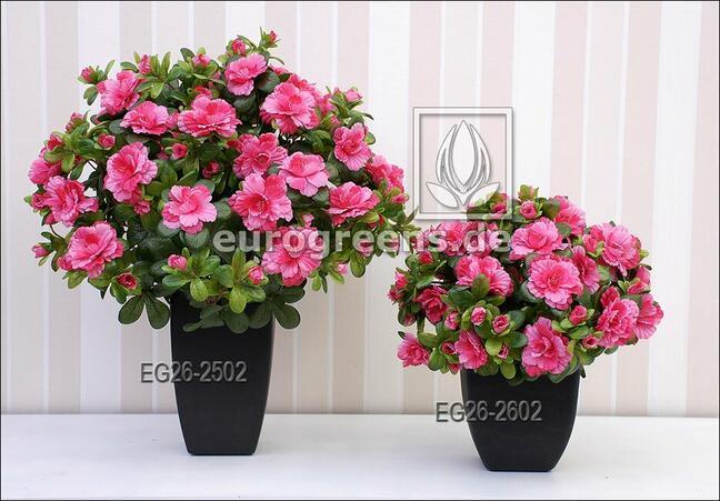 Künstlicher Strauß Belgische Azalee rosa 40 cm