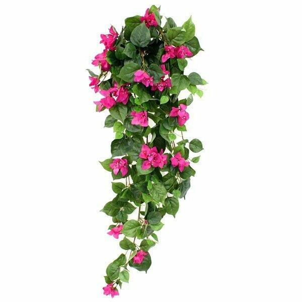 Künstlicher Tentakel Bugénvilea lila 100 cm