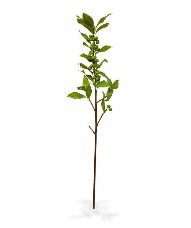 Künstlicher Zweig der Stechpalme 75 cm