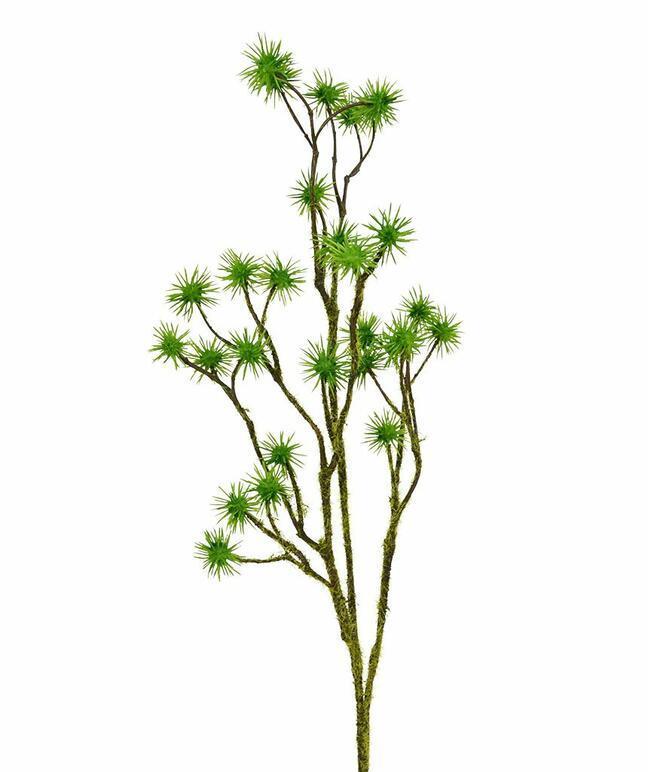 Künstlicher Zweig Distel 80 cm