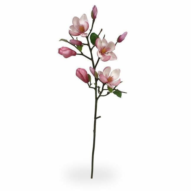 Künstlicher Zweig Magnolie rosa 80 cm