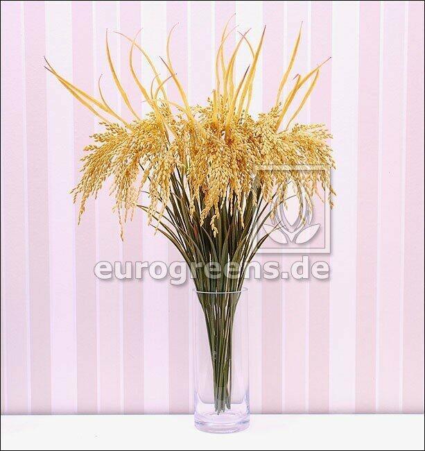 Künstlicher Zweig Reis gesät 75 cm