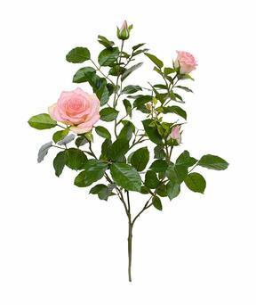 Künstlicher Zweig Rosa Rose 70 cm