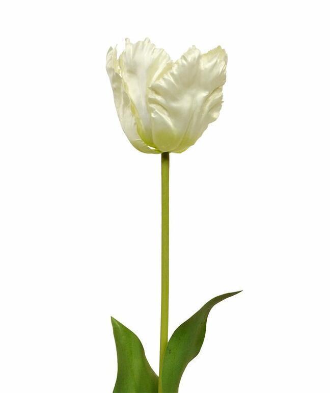 Künstlicher Zweig Tulpencreme 70 cm