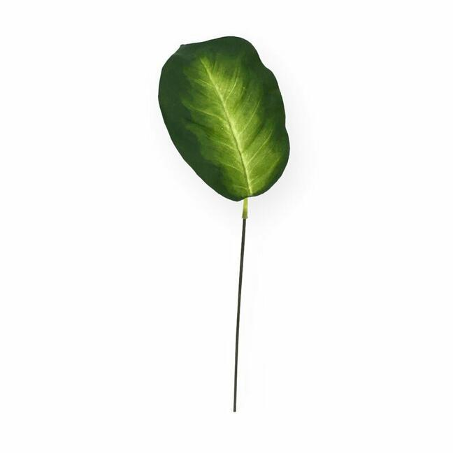 Künstliches Blatt Dífenbachia 15 cm