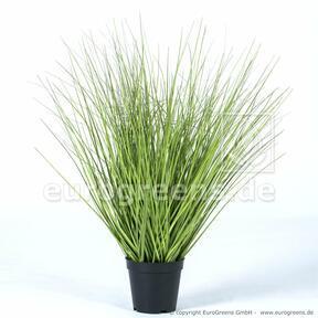 Künstliches Grasbündel im Blumentopf 65 cm
