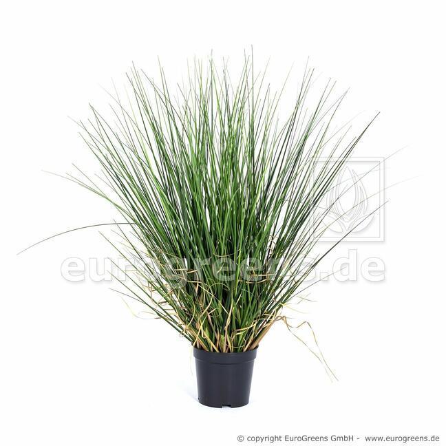 Künstliches Grasbündel in einem Topf 50 cm
