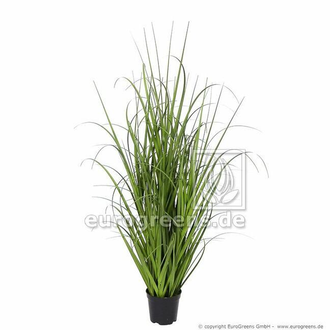 Künstliches Grasbündel Miskant riesig im Blumentopf 70 cm