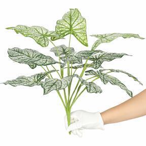 Kunstpflanze Calladium zweifarbig 50 cm