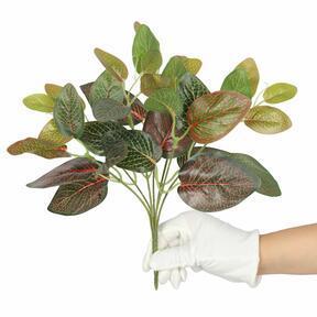 Kunstpflanze Fitonia rot 25 cm