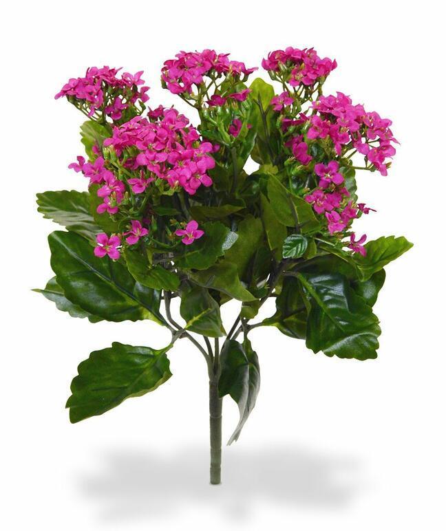 Kunstpflanze Kalanchoa rosa 30 cm pink