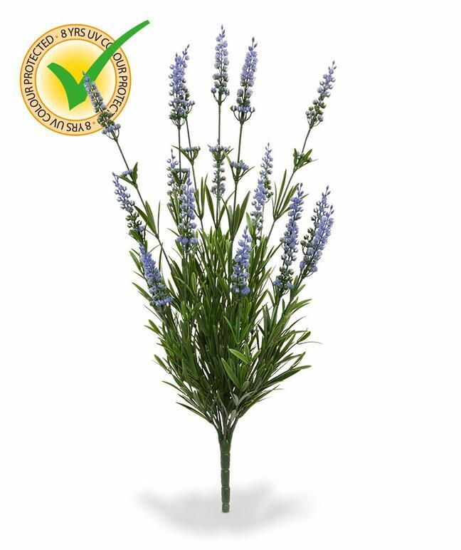 Kunstpflanze Lavendel blau 50 cm