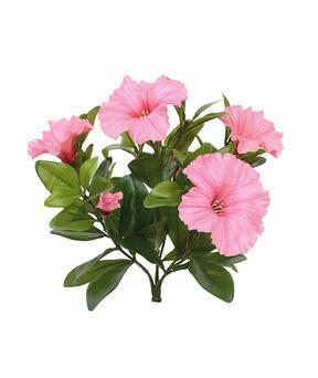 Kunstpflanze Petunie rosa 25 cm