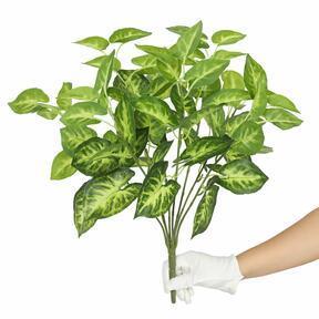 Kunstpflanze Taro Araceae 45 cm