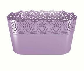LACE Spitze Lavendel Box 28,5 cm