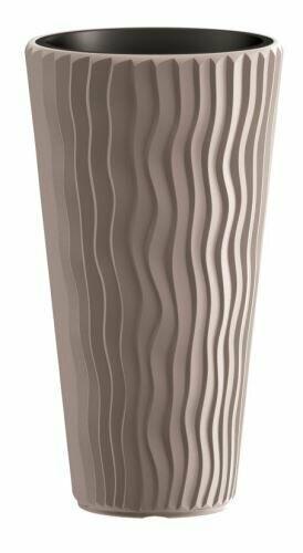 SANDY SLIM Blumentopf + Mokkaeinsatz 29,7 cm